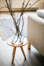 Small Coffee Table With Branch...