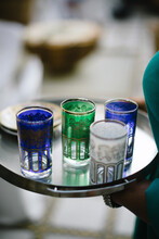 Typical Mint Tea Cups Of Marra...