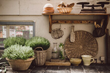 Old Rural Rustic Country Kitch...