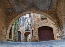 Details Of The Medieval Street...