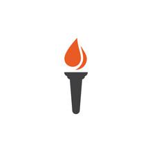 Torch Illustration