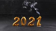 Extinguished Golden New Year 2...