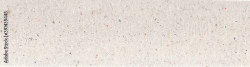 Fototapeta recycled paper texture horizontal background, copy space, textured kraft grunge design, reuse cellulose beige obraz