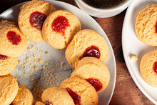 Delicious Fresh Baked Jam Drop...