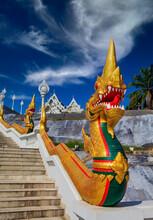 Dragon Statue At Wat Kaew Kora...