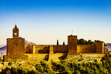 The Alcazaba Fortress In Anteq...