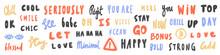 Vector Hand Drawn Sticker Logo...