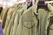 Group Of Military Style Men's ...
