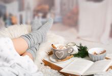 Cocoa, Hot Chocolate, Book, Cosy In The Wintertime
