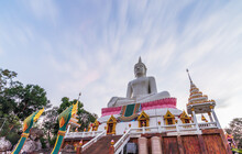 Khon Kaen Province With Wat Phra Bat Phu Pan Kham In Thailand