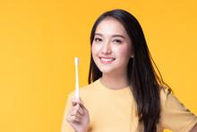 Beauty Portrait Young Asian Wo...