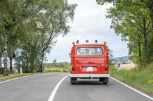 VW T1 Fire Engine Red Firefigt...