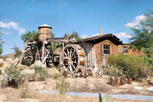 Old Water Wheel And Grist Mill...
