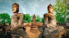 Statues Of Two Buddhas In Kamp...