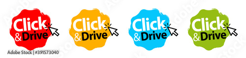 Fotografiet Click and drive !