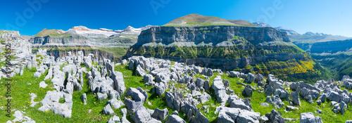 LIMESTONE PAVEMENT - LAPIAZ, Ordesa y Monte Perdido National Park, Huesca, Arago Wallpaper Mural
