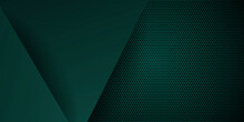 Dark Green 3d Abstract Presentation Background
