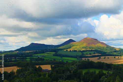 View of the Scottish lowlands Fototapeta