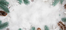 Flat Lay Winter Header: Spruce...