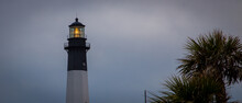 Tybee Island Lighthouse At Dusk