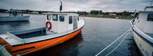 Fishing Boat In A Harbour In C...