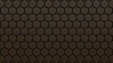 Abstract Hexagonal Background....