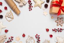 Beautiful Christmas Frame With...