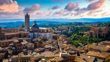 Siena Beautiful Medieval Town ...