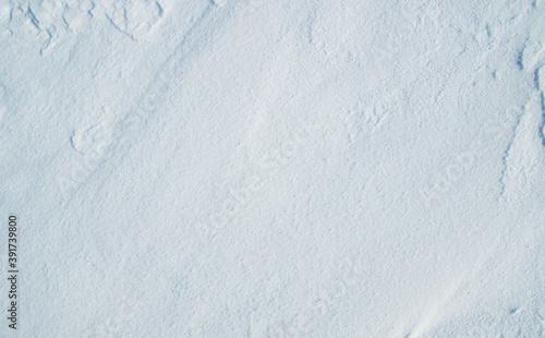Fotomural snow white background