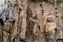 Longmen Grottoes With Buddha's...