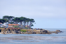 Landscape Natural Monterey Bay, California USA - Park And Outdoor Traveling Scene