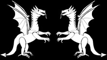 Symmetrical Drawing-an Emblem ...