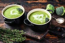 Fresh Homemade Cream Broccoli ...