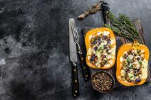 Pumpkin Stuffed With Mince Bee...