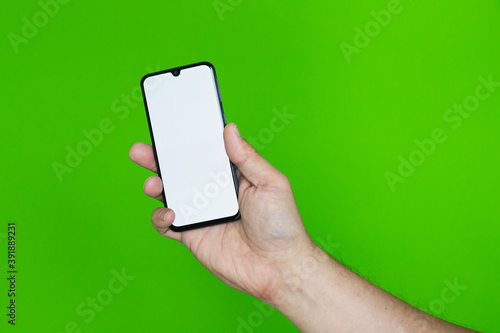 Fototapeta Ręka ze smartfonem #3 obraz