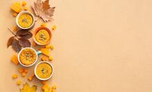 Autumn Composition With Tasty ...