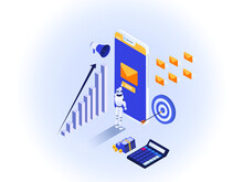 RPA Email Marketing Vector: Au...