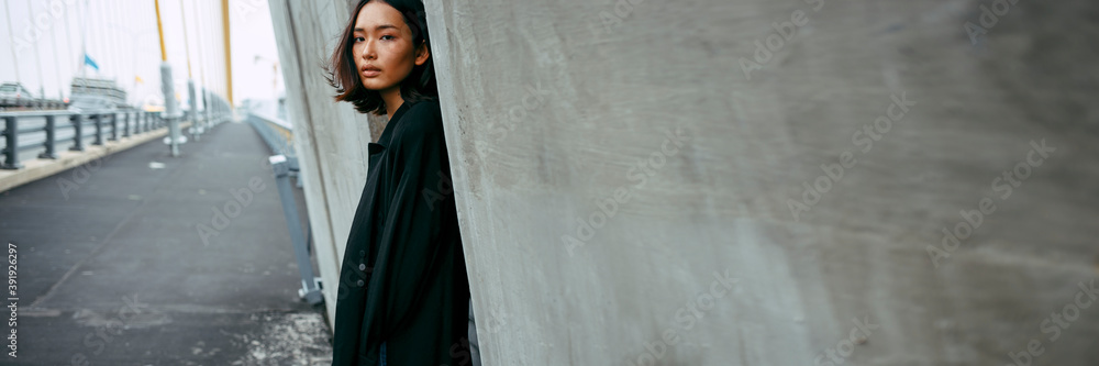 Fototapeta Asian street style