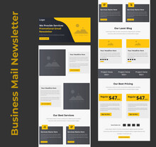 Business Services Promotional B2B Email Marketing Template