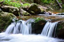 42/5000 River Bila Opava Nature Forest Stream Jeseniky