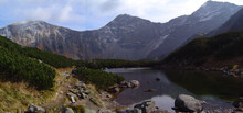Panorama Photo In High Tatras Mountains In Slovakia In Central Europe Smallest Mountains In The World