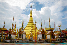 Image Of Golden Pagoda Is Loca...