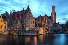 Ville De Bruges En Belgique.So...