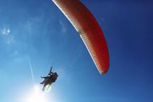 Red Paraglider Tandem Instruct...