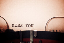 Miss You Phrase