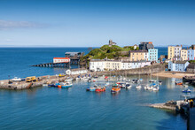 Tenby Harbour Which Is A Seasi...