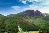 góry Tatry - widok na Giewont