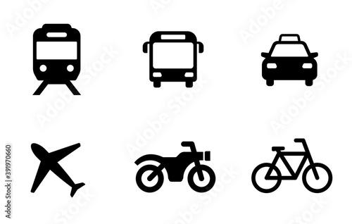 アイコン 乗り物 交通
