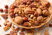 Assorted Of Nuts- Walnut, Almond, Pecan And Cashew