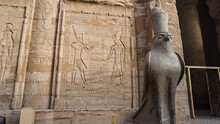 Edfu Temple And Horus Granite ...